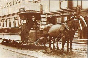 イギリスの鉄道馬車