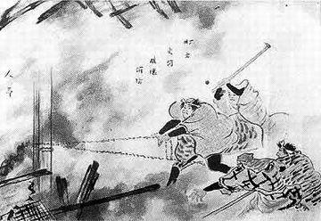 江戸時代の消火活動ってのは、破壊消防が主だったの