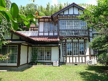 神奈川県逗子市葉山町にある『旧足立邸(昭和8年竣工の洋風別荘)』