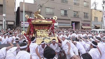 『天王祭』の様子