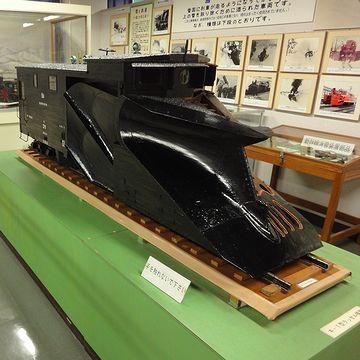『新津鉄道資料館』。これは、除雪車だと思います。