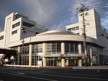 新潟市東区役所。かつては、イトーヨーカドーの大規模店舗でした。