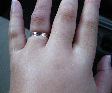 結婚指輪が抜けなくなったりするもんね