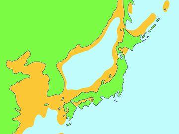 日本海ってのは、内陸の湖みたいなもんだね