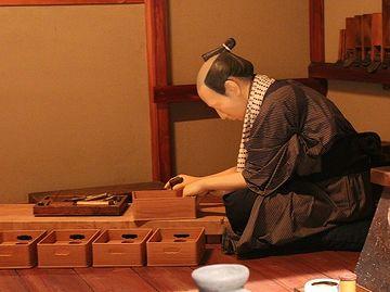 『江戸東京博物館』の指物師