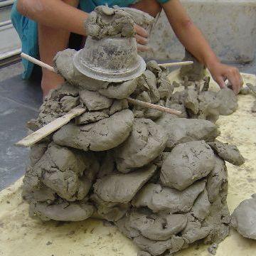 粘土遊び、楽しかったですよね
