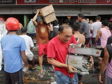 台風後のフィリピン