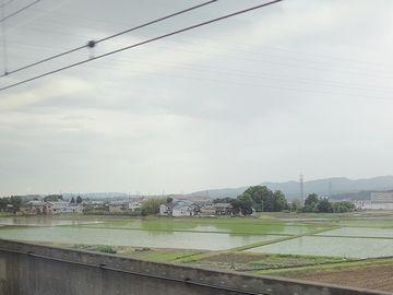 『長岡駅』の手前