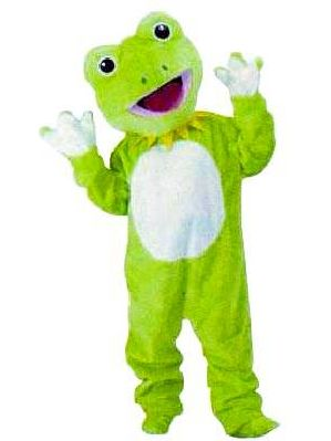 カエルの着ぐるみ
