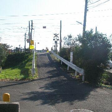 茅ヶ崎の中島踏切。対向車が見えなくて怖いですよね。