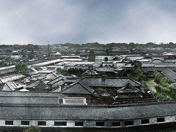 愛宕山から見た江戸の街