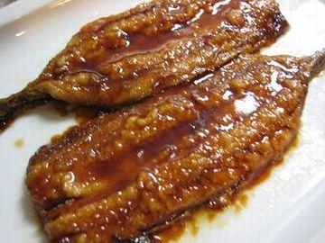 秋刀魚の蒲焼が美味しかったな