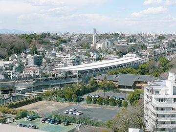 多摩川駅全景