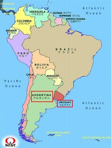 アルゼンチン、ウルグアイ