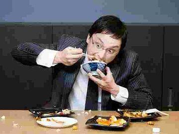 食することの意義や作法をわきまえない