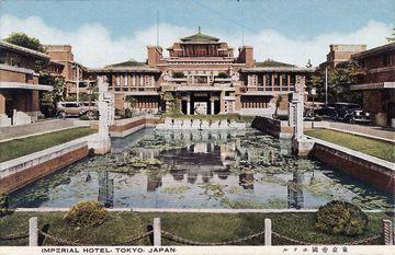 1890年(明治23年)竣工の初代帝国ホテル