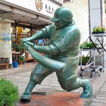水島新司の漫画の登場人物が、銅像になってるわけ