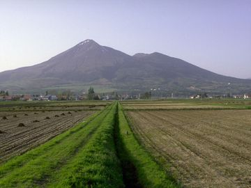 南側から見た磐梯山