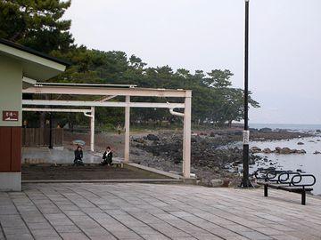 別府海浜砂湯・砂場