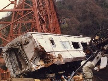 余部鉄橋の事故以来……