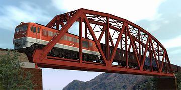 一般的な意味での鉄橋は、鉄道橋のことですよ
