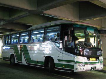 新潟秋田間に、夜行バスなんて無いしな