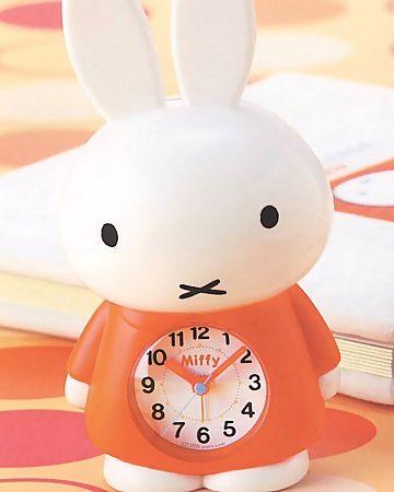 ミッフィー・目覚まし時計