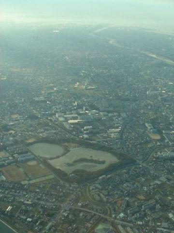 上空から見た昆陽池