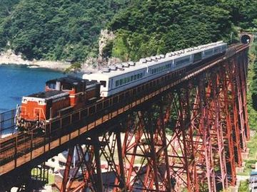 その臨時列車が、乗客を載せたまま『余部鉄橋』を渡ってたら……