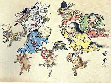 百鬼夜行』/河鍋暁斎(1831~1889)