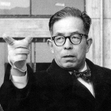 前川國男という建築家を知っておられますかの?