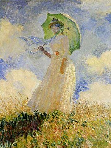 モネの日傘