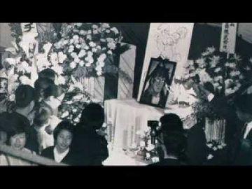昭和45年、力石徹の葬儀