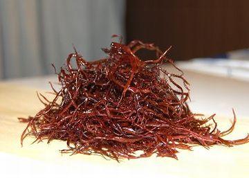 布海苔をてんこ盛り