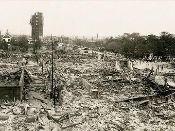 4年前に起きた関東大震災の影響が大きかったそうです