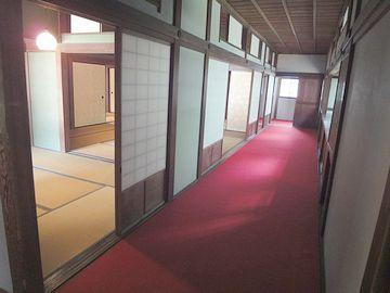 北側の廊下