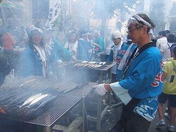 魚を焼くのは暑苦しい