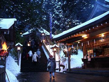 真山神社・大晦日の『ゆくとしくる年』
