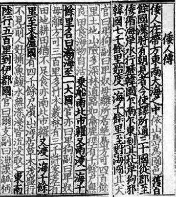 中国の『魏志倭人伝』