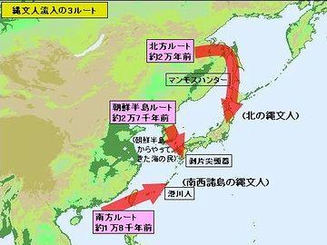 元々人間だって、日本列島の外来種