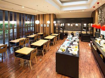 『ホテルマイステイズ上野イースト』の朝食レストラン