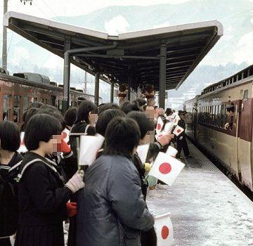 昭和61年、国鉄最後の新線として開業した『内山線』内子駅(愛媛県喜多郡内子町)の様子