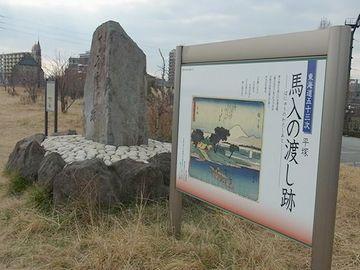 江戸時代は、橋もありませんし