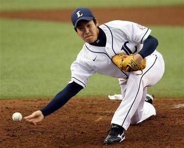 現在のプロ野球では、西武の牧田和久だけです