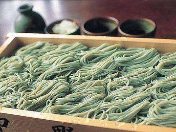 布海苔を使った蕎麦は、魚沼の特産