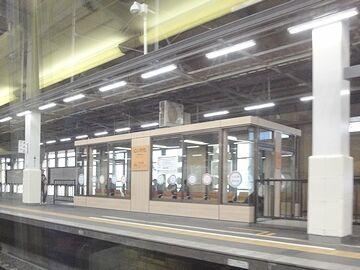 新潟駅に入ります