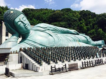 福岡市にある『南蔵院』の釈迦涅槃像