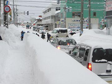 青森市って、雪がスゴいよね