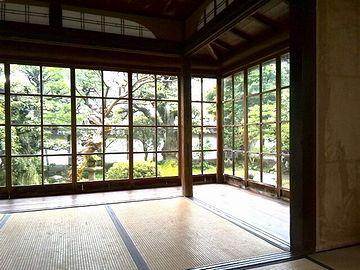 『小泉八雲旧居(松江市)』。ぜったいに寒かったはず。