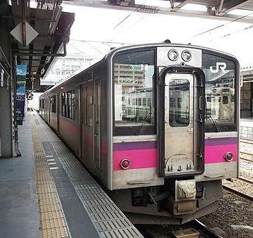 2回乗り換えて、秋田駅にたどり着くのは、11:30分です